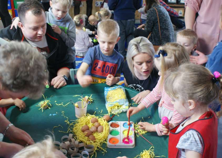 Seventy five people enjoyed a Polish coffee morning at Stepping Stones pre-school, in Haverhill
