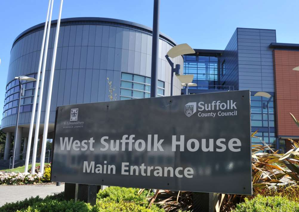 West Suffolk House, home to St Edmundsbury Borough Council