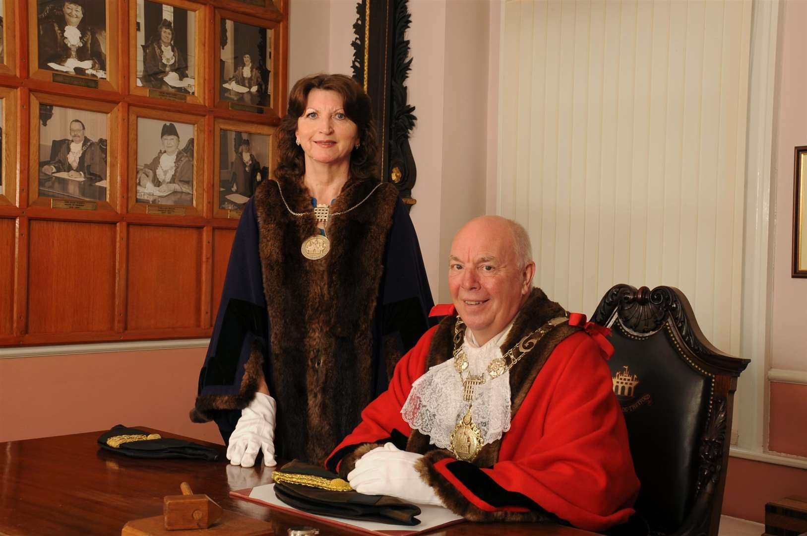 Mayor Roy Brame and Mayoress Karen Brame (2200311)