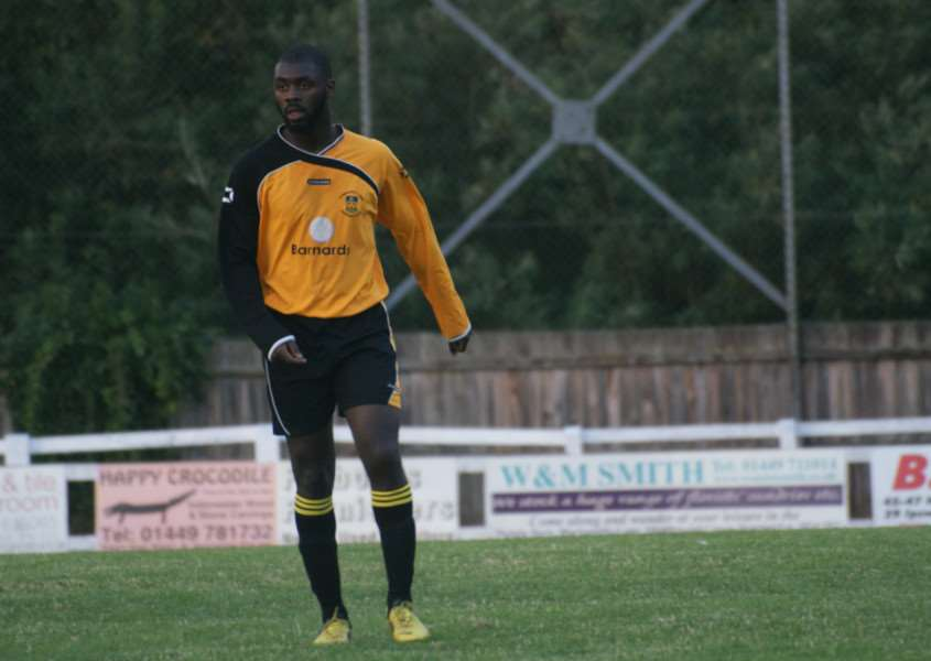 BACK IN TOWN: Remell Davis has rejoined Stowmarket Town ahead of their opening game at home to Braintree Town Reserves tomorrow (3pm)
