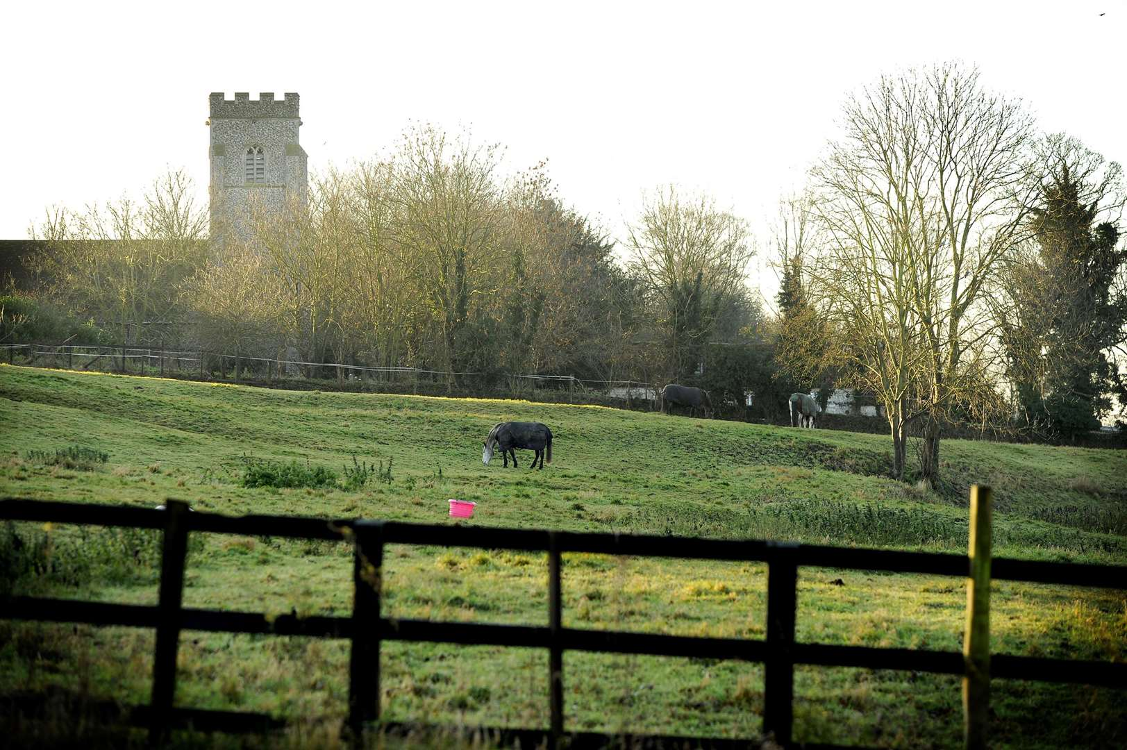Newmarket Journal December 2013 Picture of the Week Freckenham Church. (3753126)