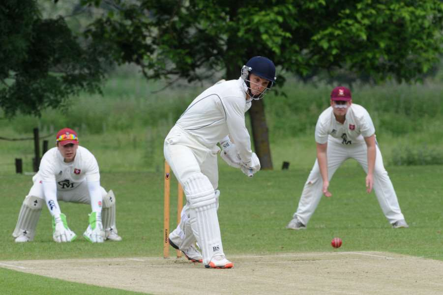 CRICKET - Worlington (Batting) v Witham''Pictured: Richard Ford ANL-160530-193125009
