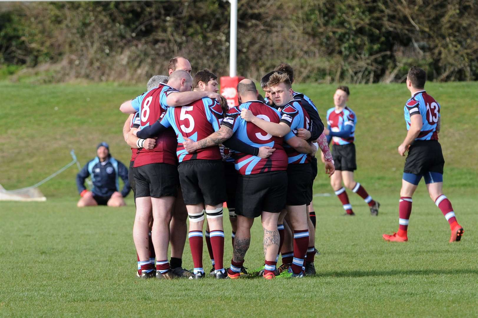 RUGBY - Haverhill v Sawston..Pictured: ...PICTURE: Mecha Morton. (33143077)