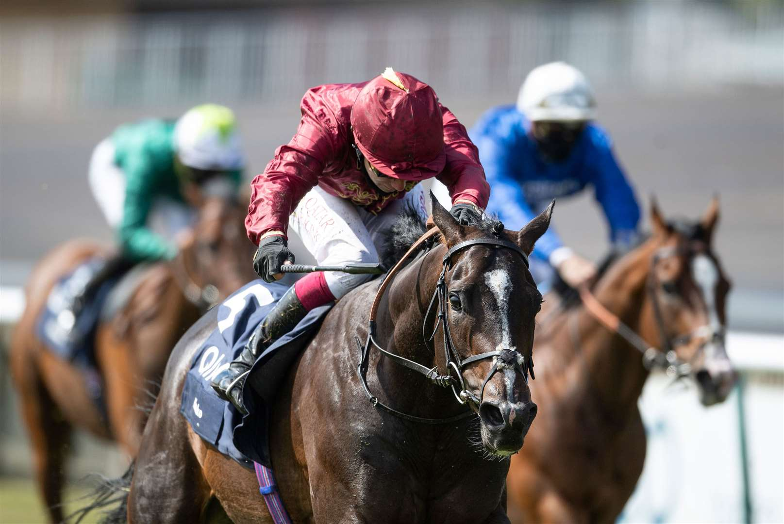 Qatar Racing's Kameko lands second Gr1 win in record time at Newmarket