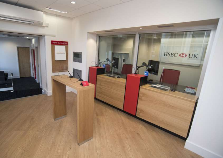 SUDBURY: HSBC reopening after fire 'HSBC, 46 Market Hill, Sudbury 'First look inside and out of HSBC which is reopening after the fire which ripped through Sudbury town centre in September 2015'Picture Mark Westley ANL-161018-225834009