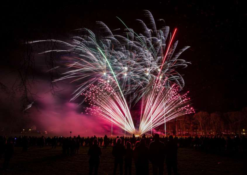 Fireworks will be one of the highlights at this year's Haverhill Christmas celebrations ANL-160811-120202001