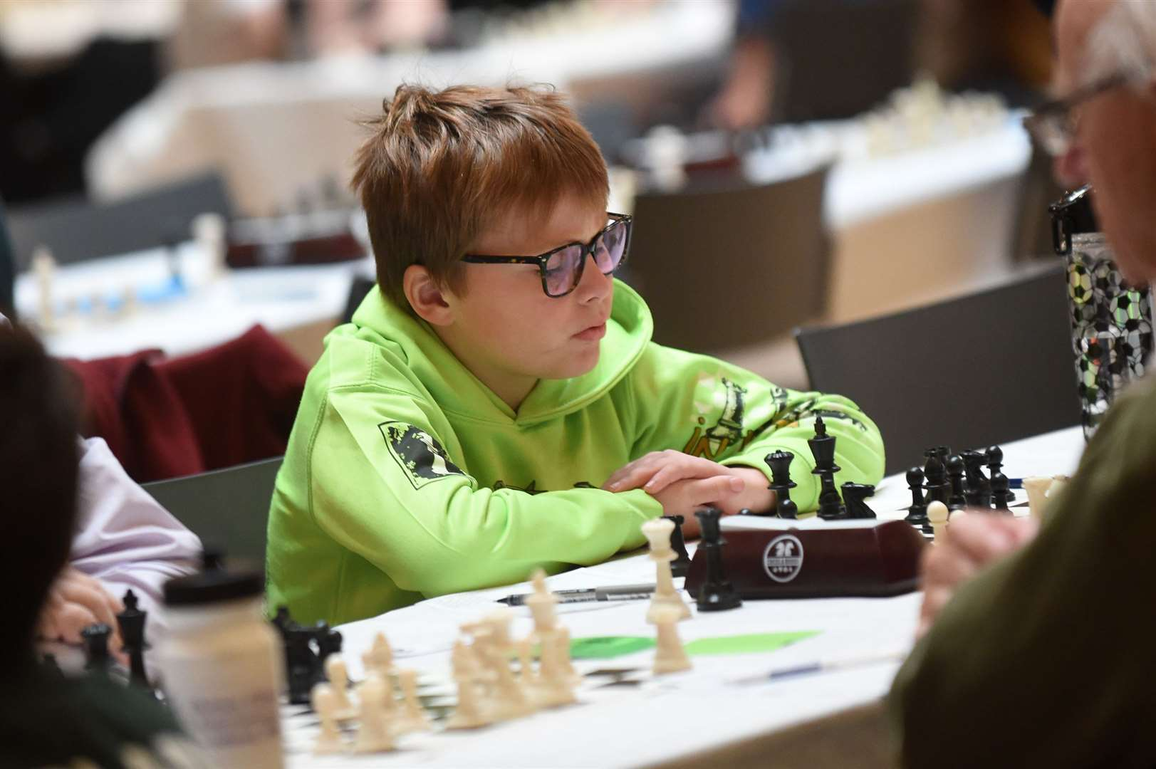 CHESS - Bury St Edmunds Chess Congress..Pictured: Minor Category Rowan Kent (Bury St Edmunds)...PICTURE: Mecha Morton ..... (20267399)