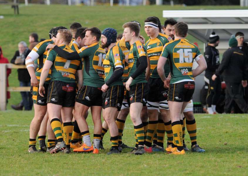 HARD LINES: The Wolfpack fell just short of halting Chinnor's 13-match winning streak