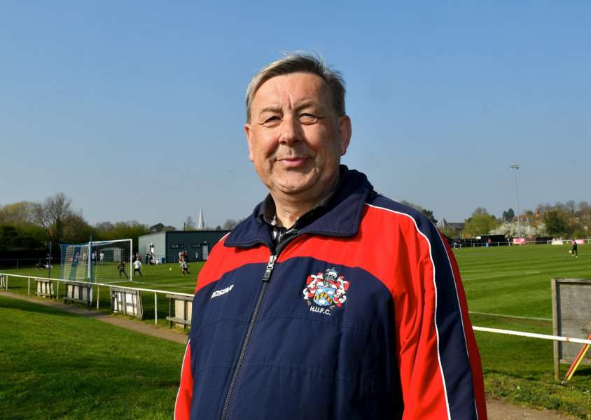 SEEKING SUPPORT: Hadleigh chairman Rolf Beggerow wants your vote to help improve facilities at The Millfield