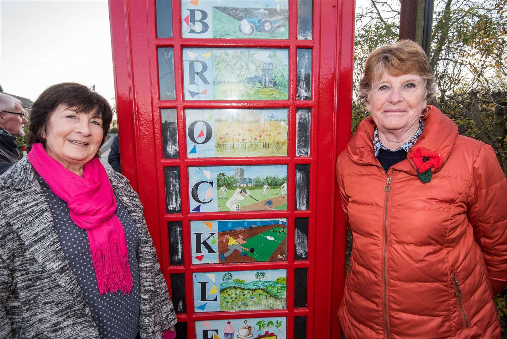 Brockley has its own Tate Modern, in the shape of its telephone box art gallery. Picture by Mark Westley