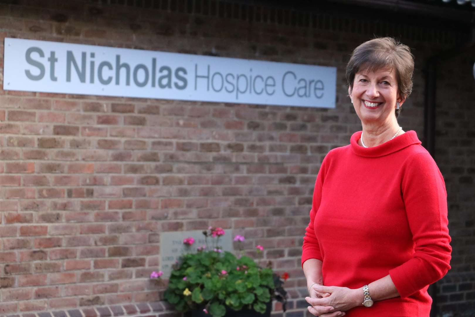 Barbara Gale, chief executive of St Nicholas Hospice Care, awardedan MBE in recognition of her services to hospice care and the West Suffolk community. (6173112)