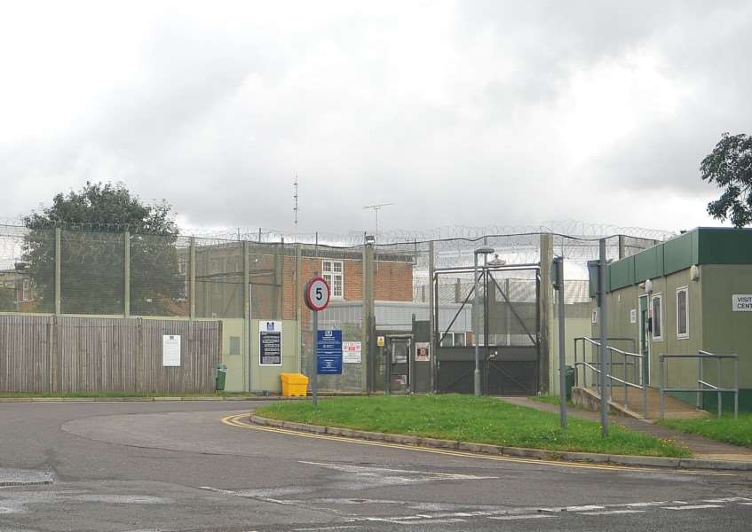 HMP Highpoint Prison, off the A143 near Stradishall. ENGANL00120120808123823