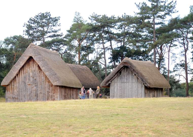 Anglo Saxon recreation at West Stow ENGANL00120111025165722