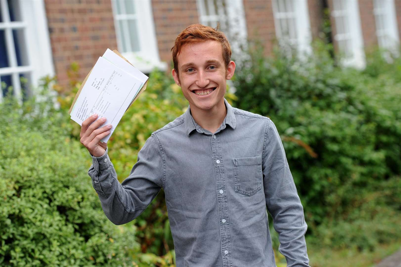 A Level Results 2018 - King Edwards VI...Pictured: Jonathan Fayers - A, B (x2)...PICTURE: Mecha Morton... .. (3631873)