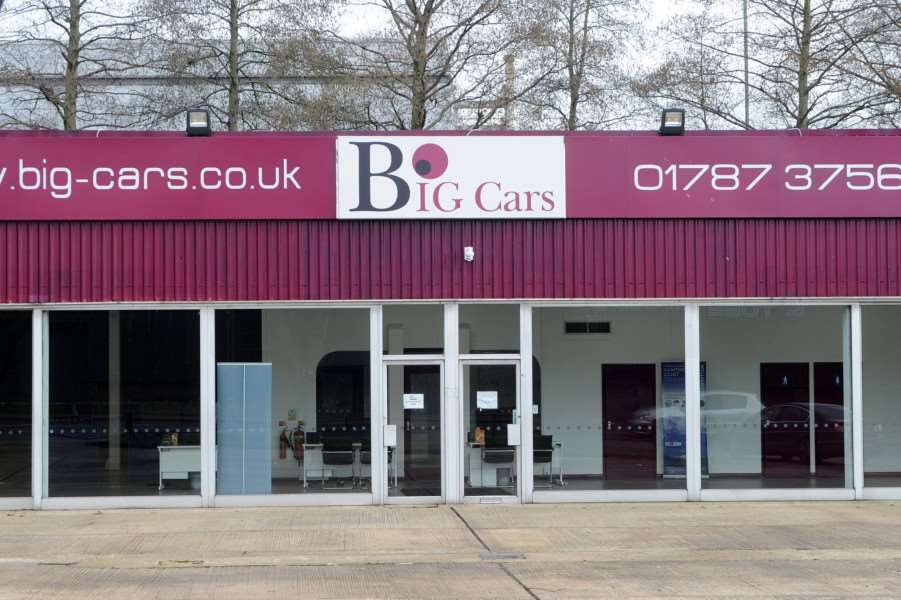 Big Cars Ltd in Sudbury has ceased trading due to unsustainable trading conditions'''''PICTURE: Mecha Morton