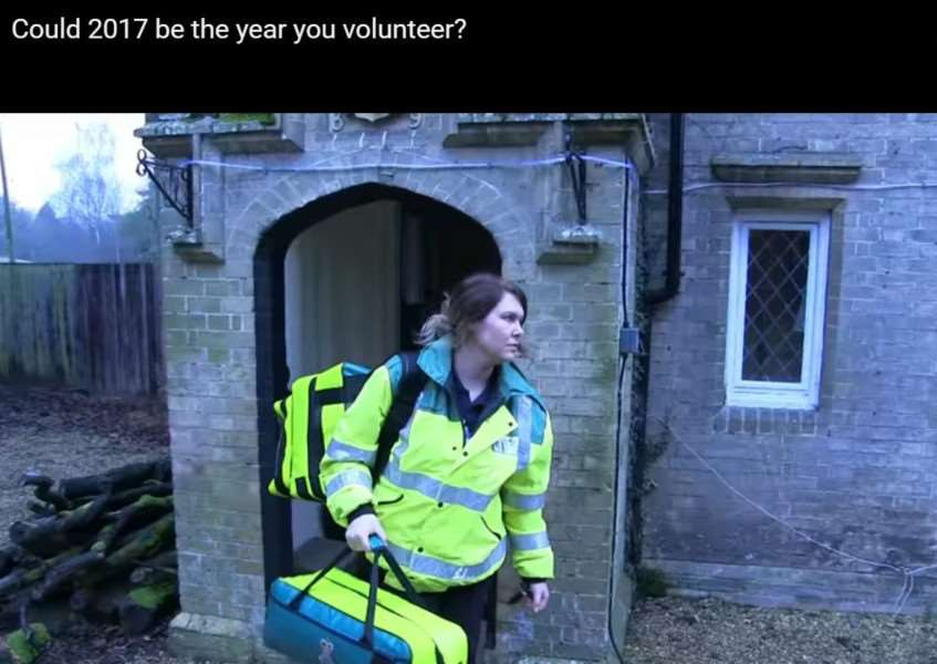 Shauna Tate appears in an EEAST video talking about why she joined Thetford CFR after her son was treated for sepsis ANL-170301-101153001