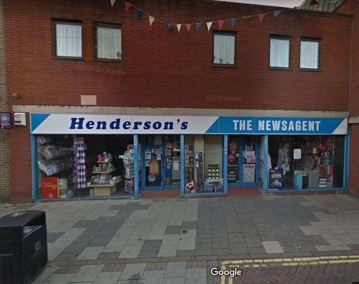 Henderson's, in High Street, Haverhill. Picture: Google