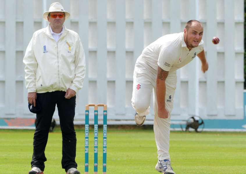 CRICKET - Suffolk Unicorns Championship. Suffolk v Northumberland''Pictured: Mick Comber ANL-160620-094627009