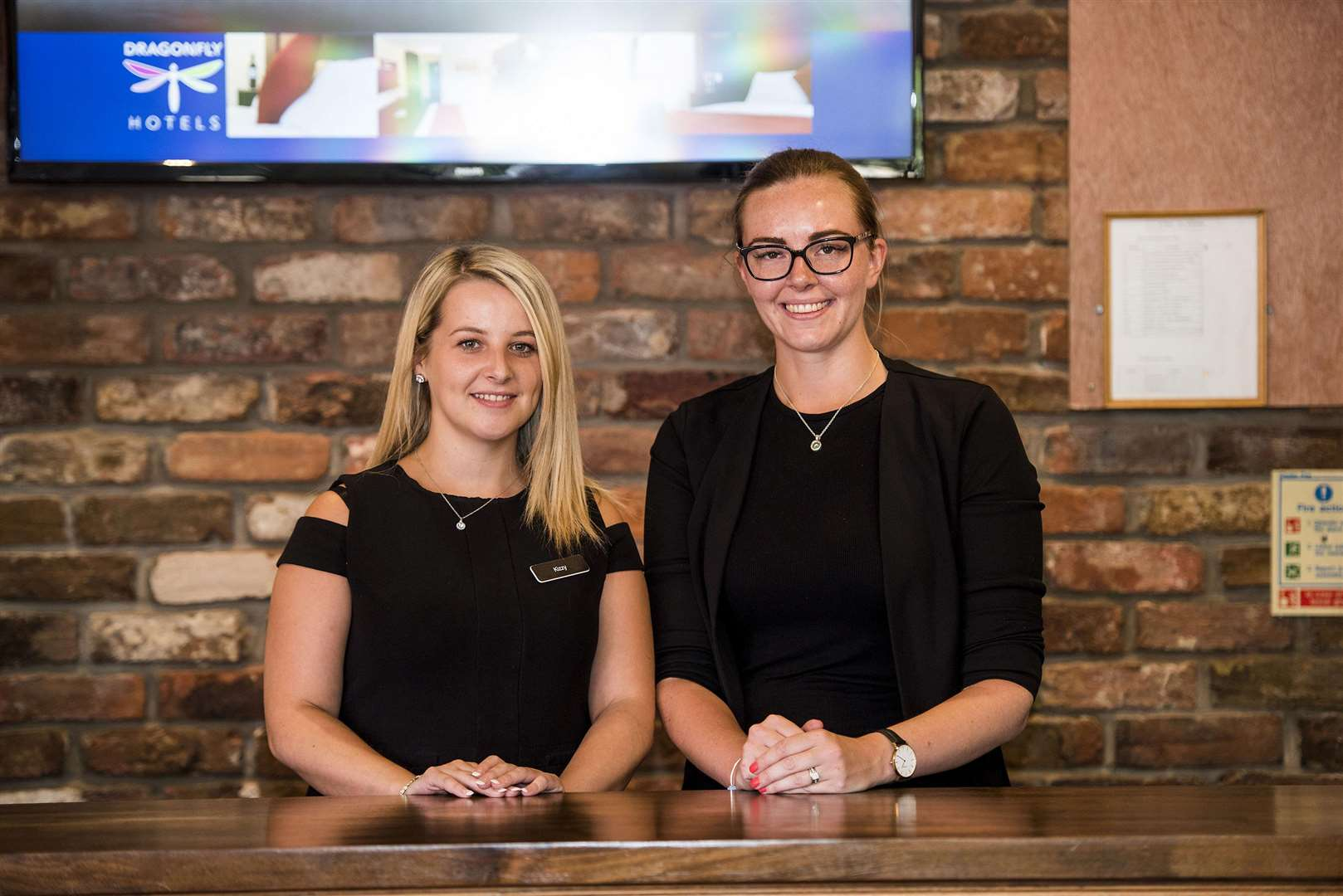 Kizzy Brew-Butler, operations manager, and Lucy Moody general manager. Picture: Mark Westley.