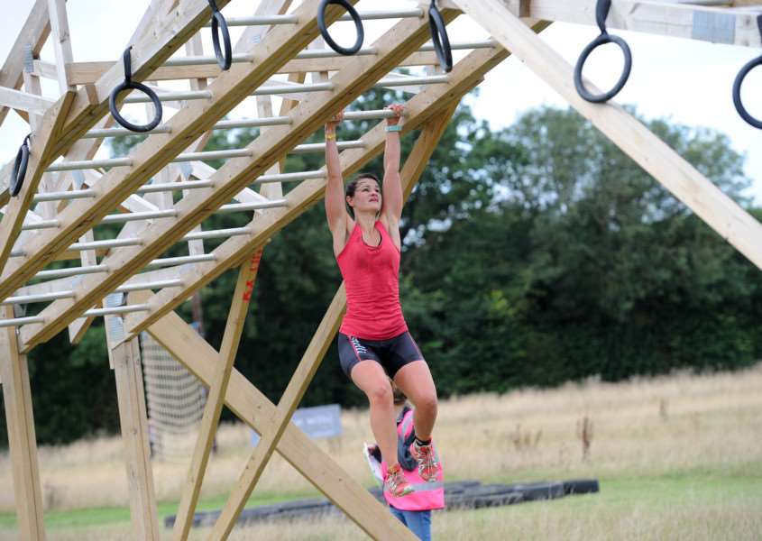 The Big BRO - Bike, Run, Obstacle - Race in aid of Breast Cancer Now.