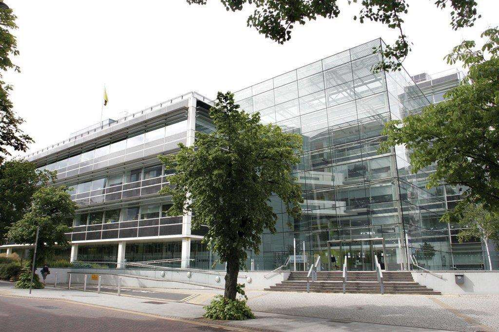 Suffolk County Council's headquarters at Endeavour House, Ipswich.