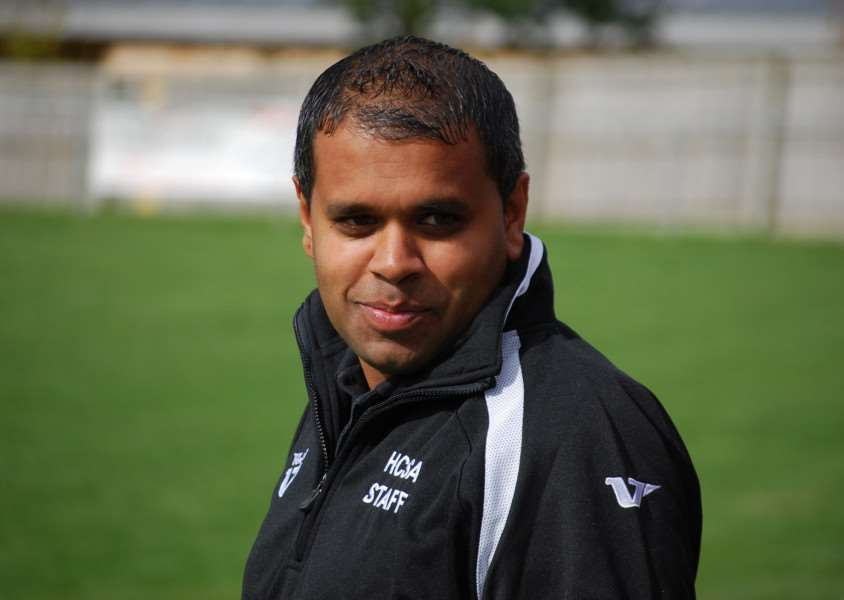Haverhill Rovers Reserves manager, Peter Betts.