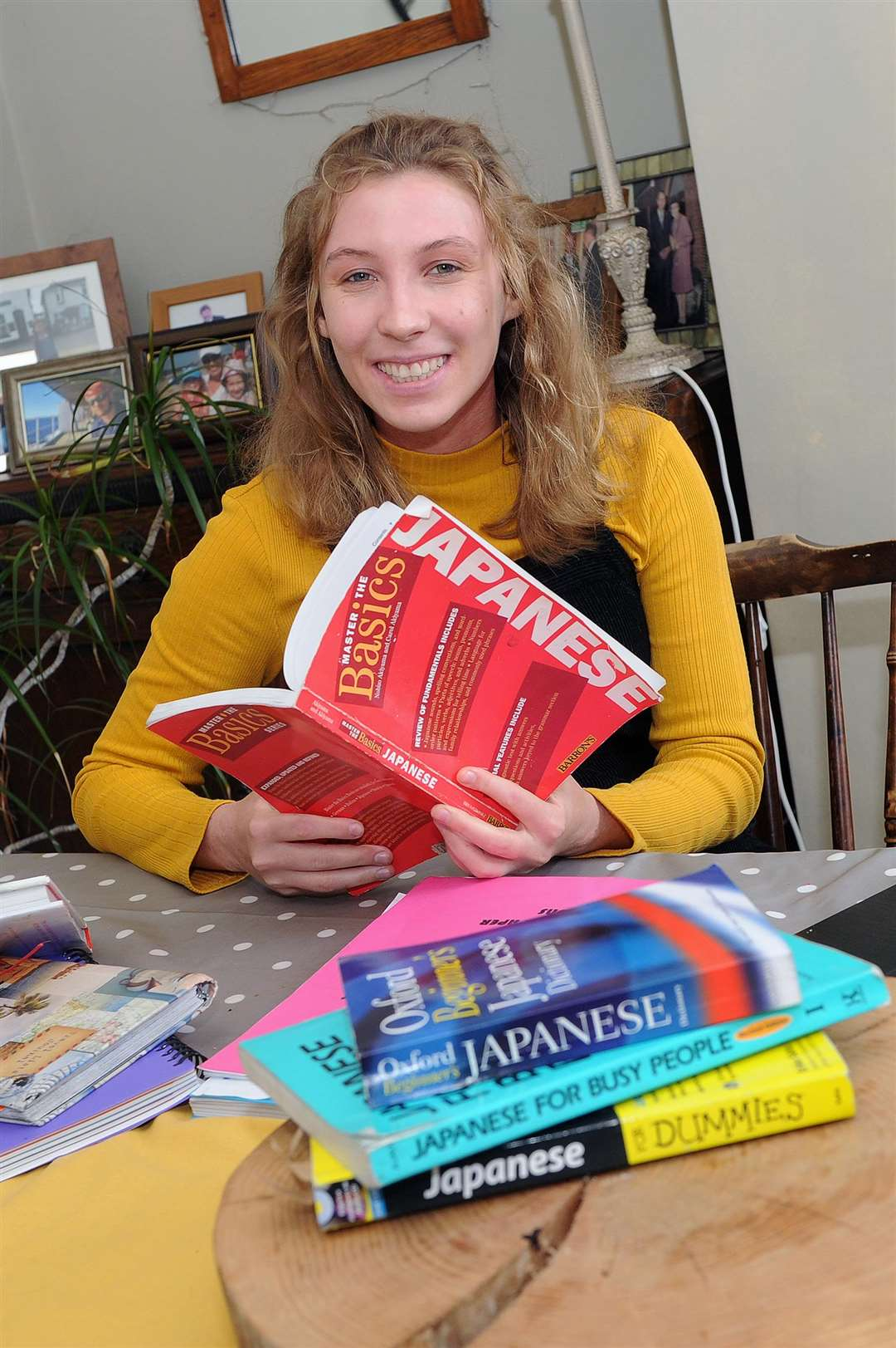 Lucy Keedy-Davies is fundraising for a year-long trip to Japan in August, where she will be teaching English whilst taking part in community work. PICTURE: Mecha Morton (2400981)