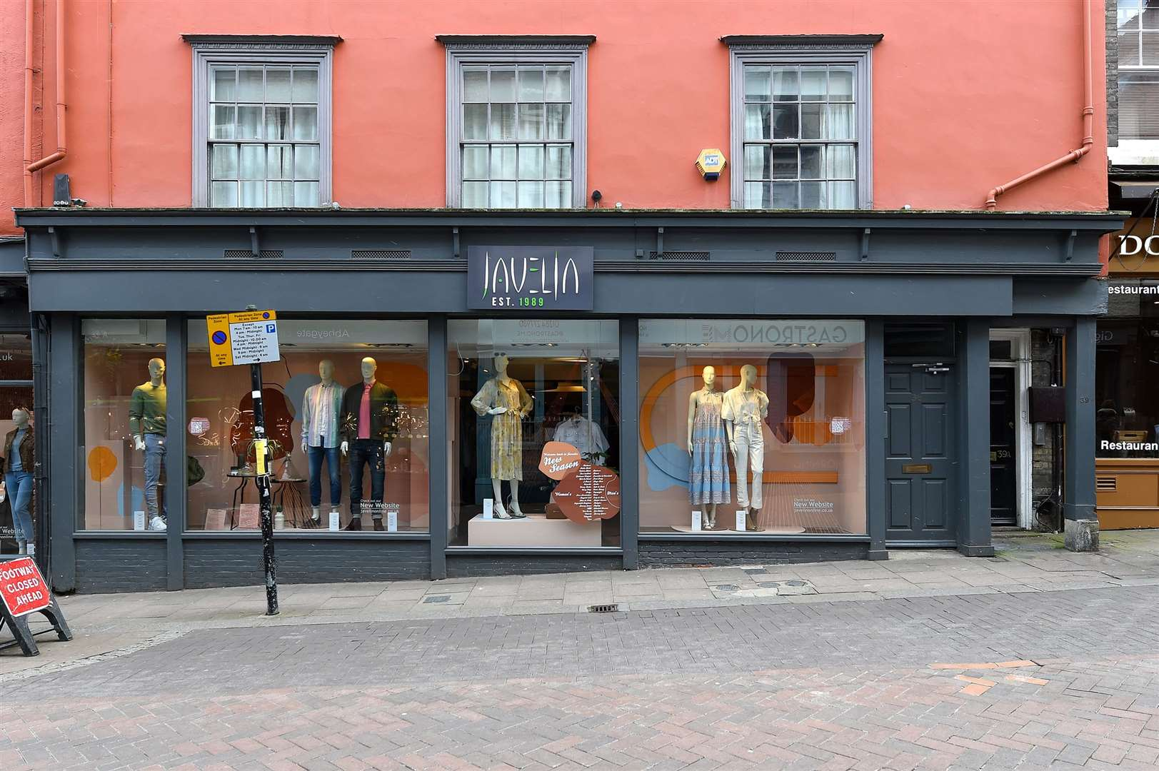 Clothes shop Javelin was named by readers of Grazia as one of the best local stores in the UK. Picture: Mecha Morton