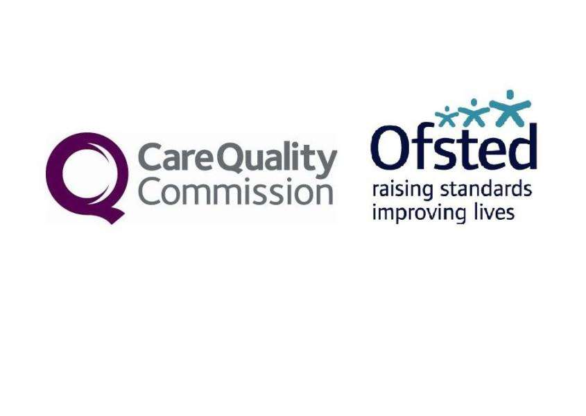 CQC and Ofsted logos