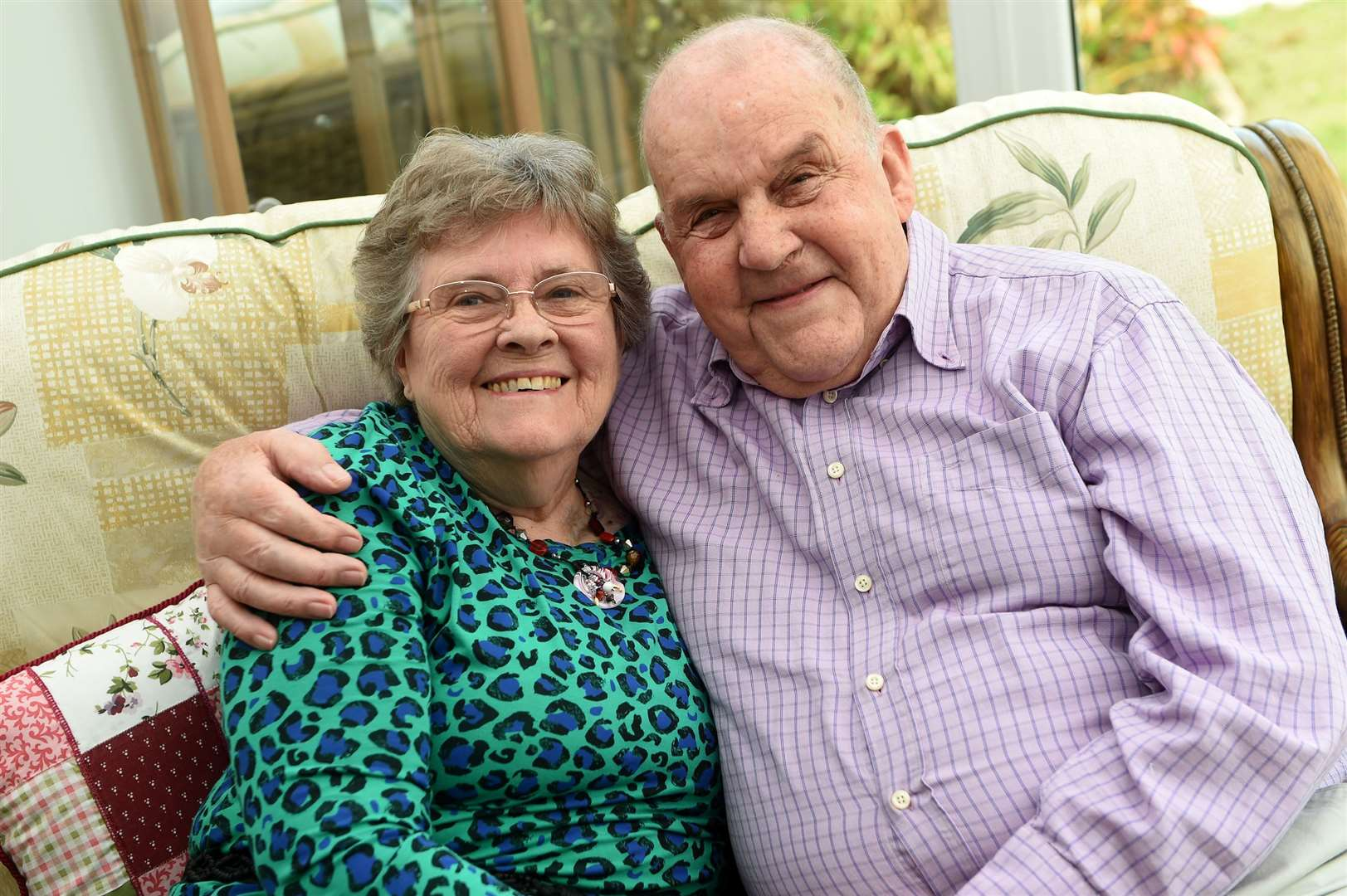 Pamela and Michael Soames, of Stowmarket, are celebrating their diamond wedding anniversary. Picture: Mecha Morton