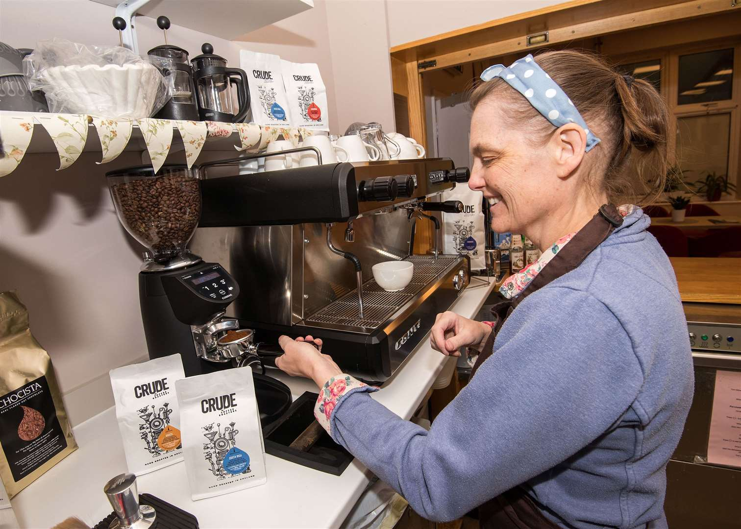 Thurst coffee shop has new improved products on offer