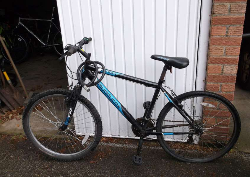 Police are looking for the owner of this MuddyFox bike ANL-150629-152837001