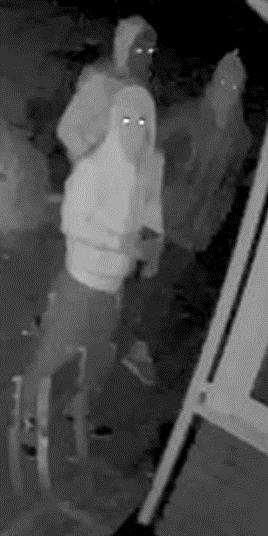 Police appealing for anyone who knows the identity of the three people in this CCTV image.