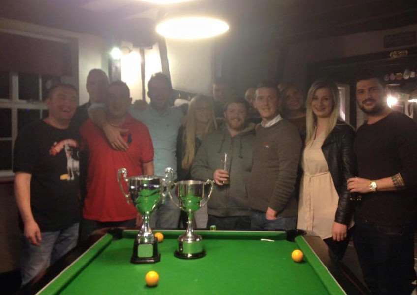 The Bay Horse, Sudbury, held a successful charity pool competition in memory of Pete Martin. ANL-151130-171322001