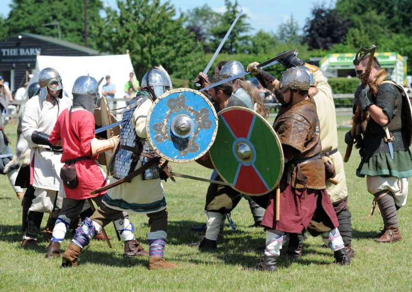 Rewturn to the Dark Ages as Anglo Saxons and Vikings do battle