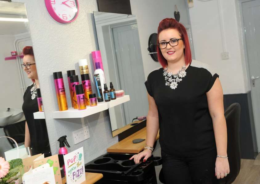 Jasmin Forbes has opened JJ Boutique in Walsham-le-Willows, her first hair and beauty salon after six years as a hairdresser in and around Bury St Edmunds.'''''PICTURE: Mecha Morton