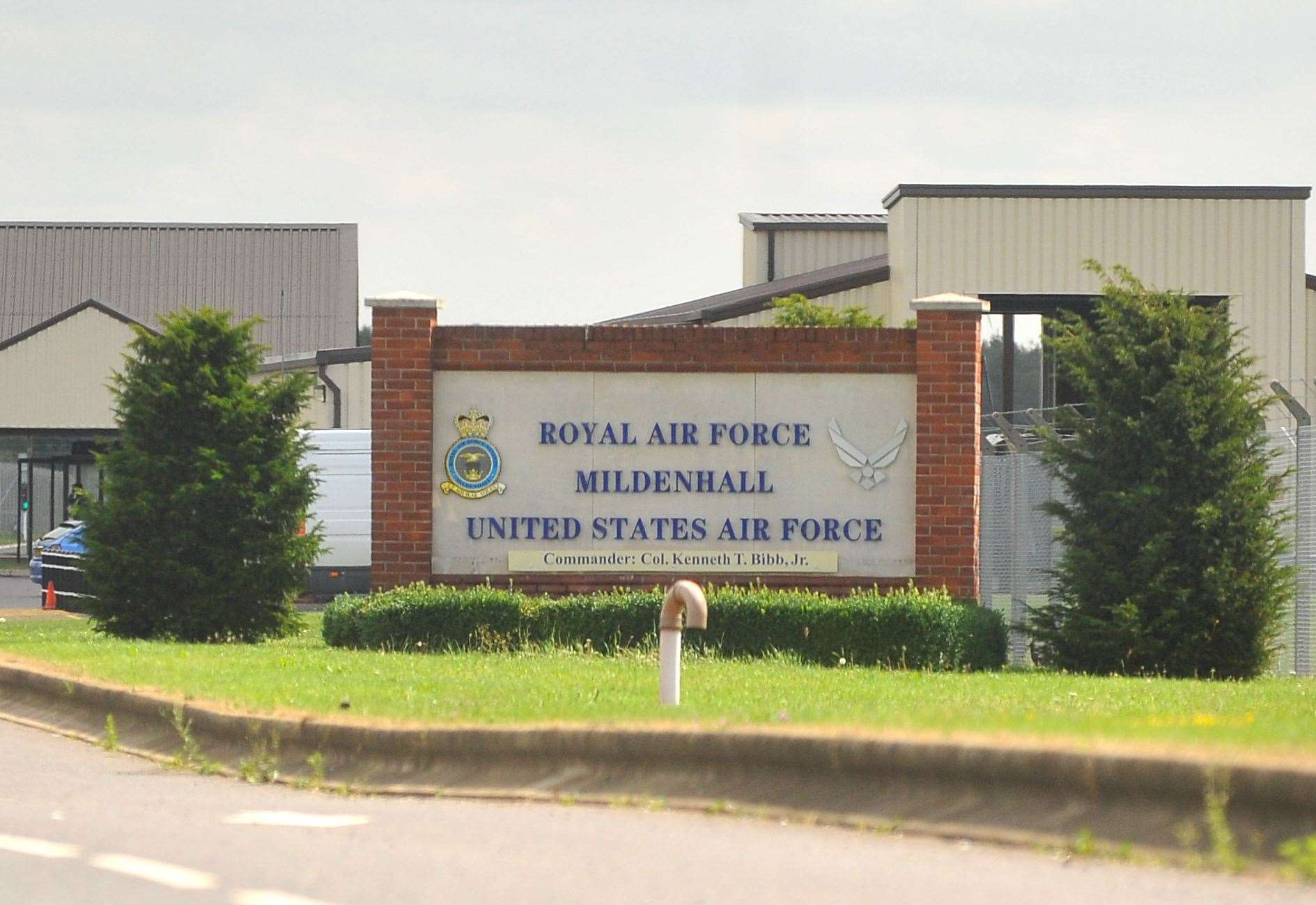 Main Gate At Raf Mildenhall Reopens After Suspicious Package