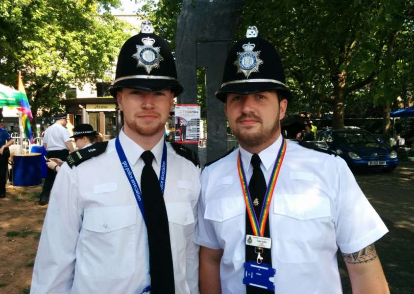 Special Sergeant Joseph Whitehead and PC Luke Heffer