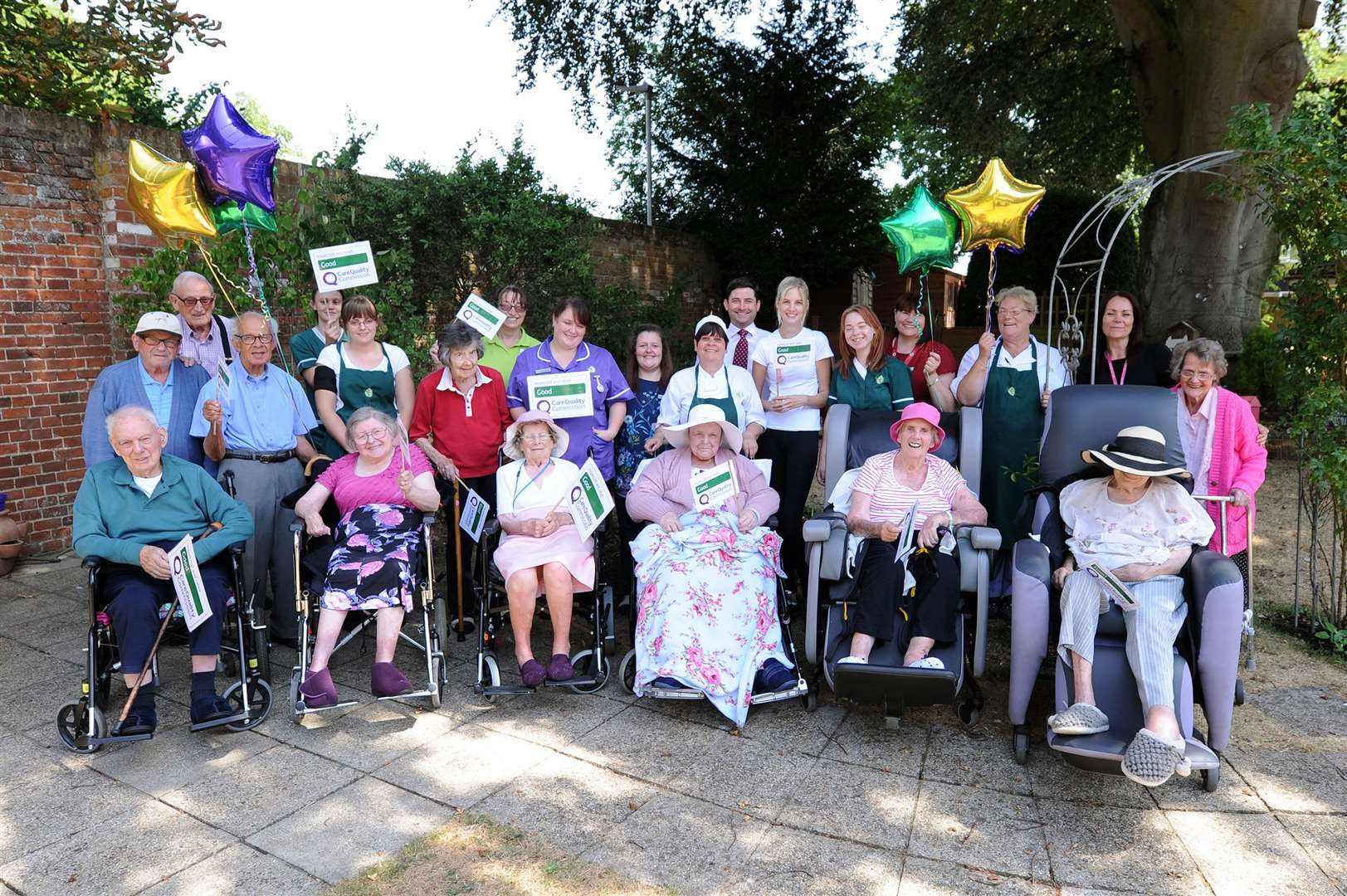 Melford Court Care Home in Long Melford has been awarded a 'Good' rating from the Care Quality Commission (CQC)....PICTURE: Mecha Morton. .. (3490266)