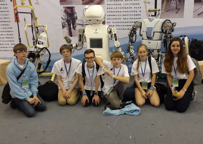 County Upper School pupils represent the UK in Shanghai for the CoSpace World Chamionships ANL-150921-112654001
