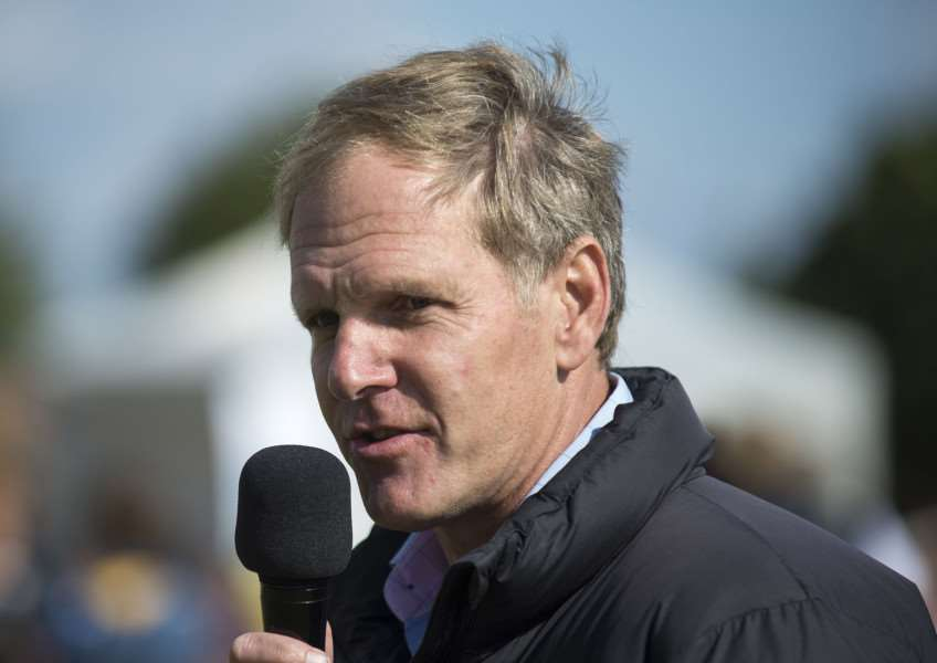 NO HAT-TRICK: Michael Bell's Big Orange had to settle for second spot in the Qatar Goodwood Cup