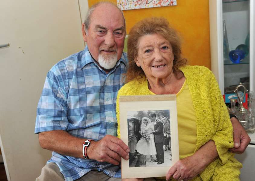 Yvonne and Norman Gauld are celebrating their diamond wedding anniversary ANL-151013-190725009