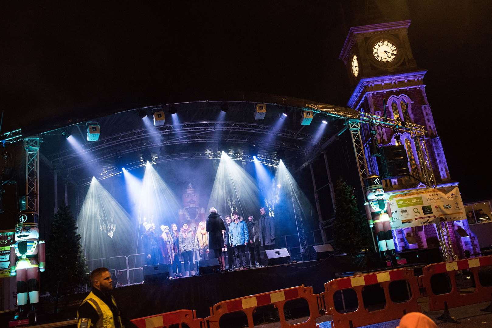 Newmarket Christmas lights and lantern parade Picture Mark Westley. (21474113)