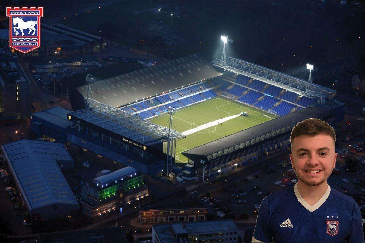 For web - Joseph (Joey) Sadler Ipswich Town columnist Portman Road. (2524322)
