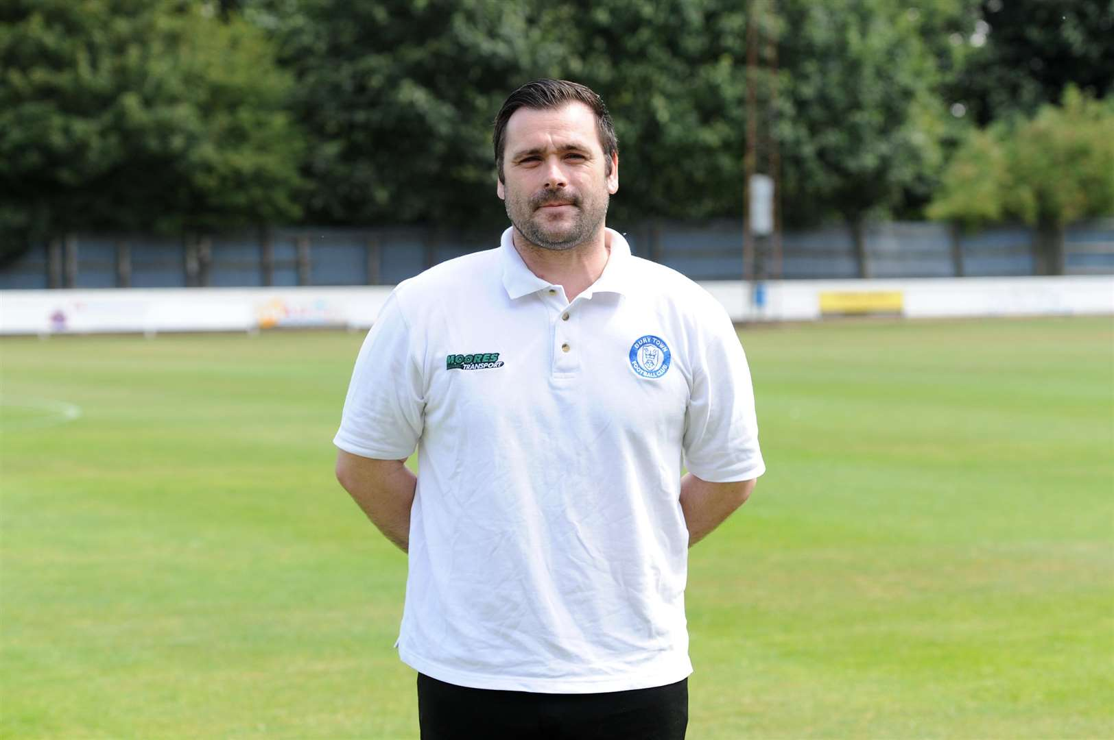 BURY TOWN FC profile shots..Pictured: Christian Appleford - Assistant Manager. (5769917)