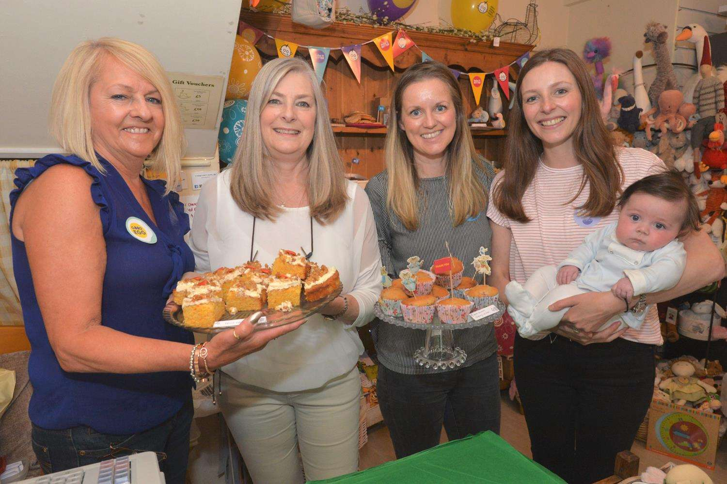 Newmarket Rocking Rabbit charity cake sale
