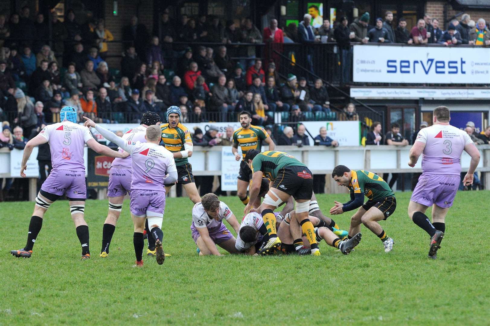 RUGBY - Bury St Edmunds v Clifton..Pictured: ...PICTURE: Mecha Morton. (5598342)