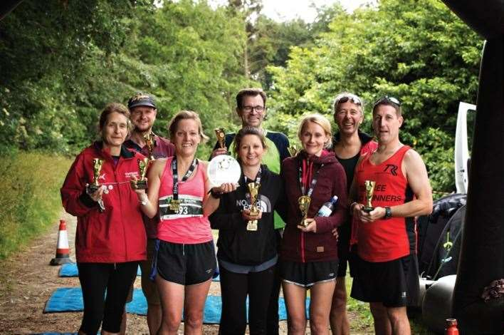 The Suffolk TrailFest 2018 Ultra 24 hour winning team The Jam Jars Picture: Ruth Leach Photography (8228478)