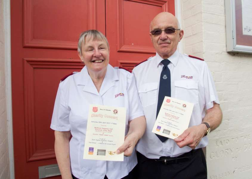 Steve Whittingham, who is retiring from the Salvation Army after 24 years