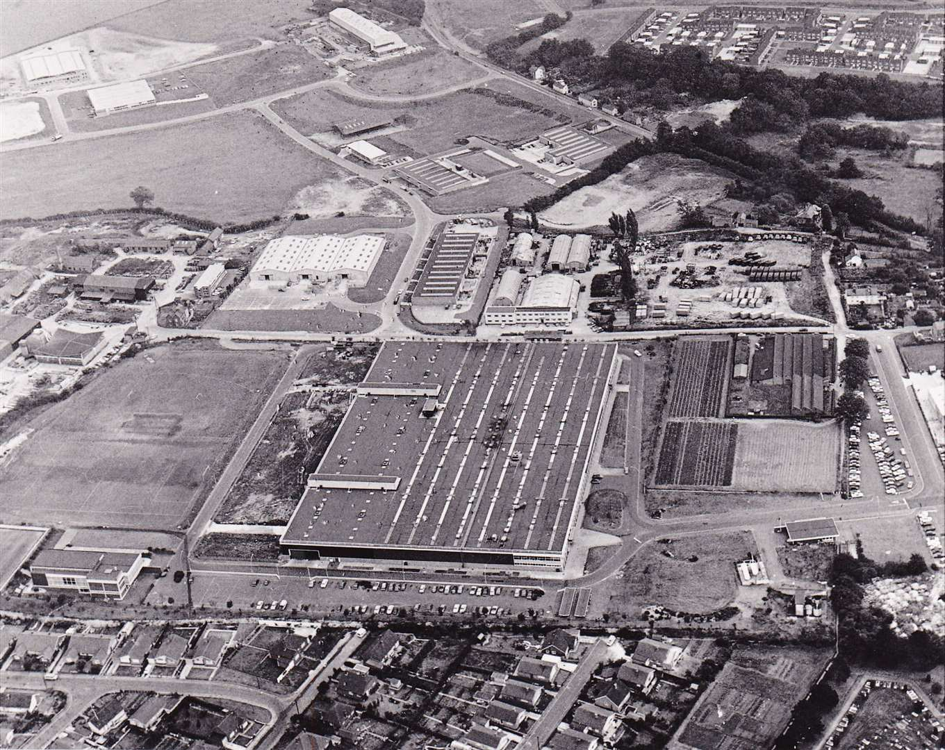 Sudbury Lucas CAV factory in 1971. Picture: Sudbury Photo Archive